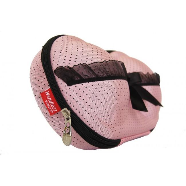 BH Koffer pink mit spitze