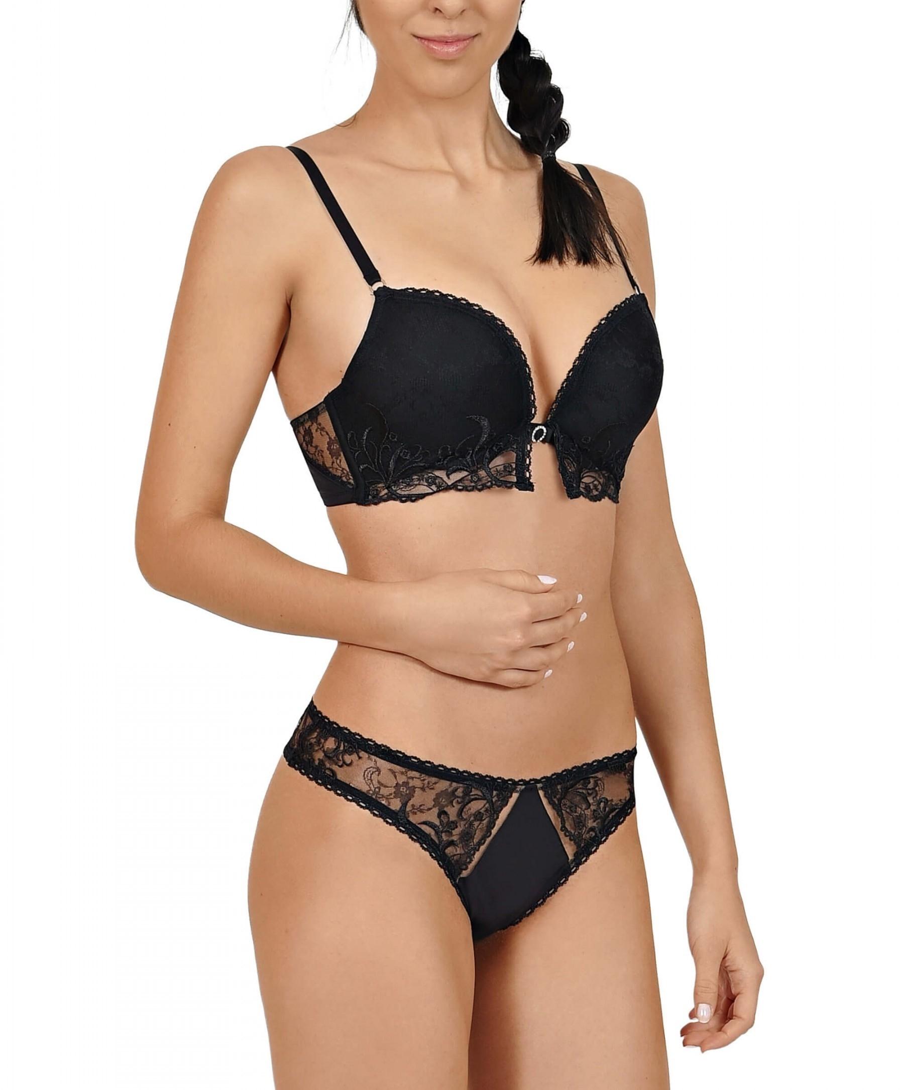 Lisca Fame Bikinistring 12258 Schwarz