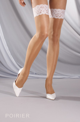 Poirier Bi-Colour/Stay-up stocking ST500